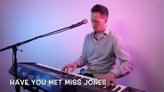 Have You Met Miss Jones from Lorenz Hart and Richard Rodgers. Here's my vocal and piano cover of this song. Jazz Songs, Music Songs, Richard Rodgers, Piano Cover, Song Play, Robbie Williams, Royalty Free Music, Singing, Piano