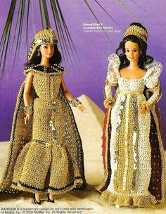 X678 Crochet PATTERN ONLY Cleopatra & Coronation Fashion Doll Dress Barbie Black Friday Etsy. $3.95, via Etsy.
