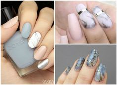 How To Get Marble Nail's Effect: 8 DIY Trendy Ideas