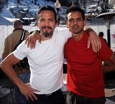Benjamin Bratt and brother Peter Bratt | Even more gorgeous in person!
