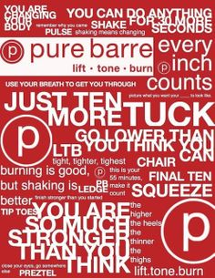 Obsessed with pure barre! Best complete total body workout I have done and FUN!