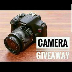 📸CAMERA GIVEAWAY📸  Head to ----------- @kingfrenchierollo next!! My friends and I are feeling generous! We've all come together to bring you this amazing chance to WIN this Canon Rebel T5 camera 📸 Entering is super easy! All you have to do is: 1. Like this post. 2. Follow me, of course 😉 3. Head to @kingfrenchierollo and find the giveaway post. 4. Repeat steps 1-3 until you have completed the loop and made it back here! 5. Comment done once you've completed the loop.  You must follow all…