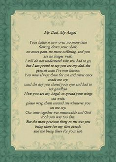 Miss my Dad. I didn't get to the hospital fast enough. Wish I could've been there like he was for my first breath. Miss My Daddy, Rip Daddy, Miss You Dad, Love You Dad, Dad Poems, Grief Poems, Daddy Quotes, Funeral Poems For Dad, Funeral Quotes