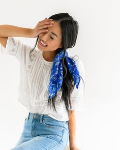 *Sky's The Limit Scarf - Luca + Grae