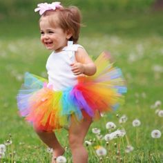 Love this. Candy Rainbow Tutu From Once Upon a Time Creations, $16.99 Photo credit: MLS PhotoWorks