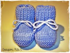 the space of lilac: At kind request . - the lilac space: At kind request … The baby shoes knitted Best Picture For anello For Your Tast - Knitted Booties, Knit Shoes, Baby Booties, Baby Boy Knitting Patterns, Knit Patterns, Baby Boy Shoes, Baby Sweaters, Lana, Knit Crochet