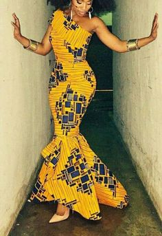 African clothing for women, African dress, African party dress, Ankara dress, African maxi dress - African fashion African Prom Dresses, African Dresses For Women, African Attire, African Wear, African Women, African Style, African Clothes, Short Dresses, African Dress Styles
