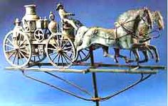 Antique Weathervanes and Weathervane Collecting Information & History @ Collectics Antiques & Collectibles