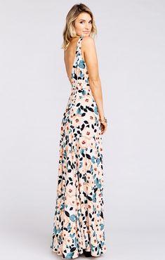 Jenn Maxi Dress ~ Steel Magnolia | Show Me Your MuMu