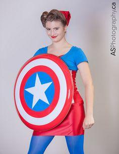 Ms. Marvel Shazam Hammer Town Comic Con 2013