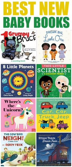 Best new baby books of the year! When it comes to getting your baby or infant interesting in reading there is nothing like cuddling up with these best new Baby Story Books Free Story Books, Baby Story Books, Free Stories, Baby Books, Toddler Books, Stories For Kids, Childrens Books, Story Books For Kids, Teaching Kids