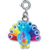 CHARM IT! Rainbow Peacock Charm
