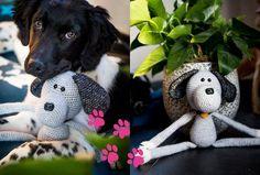 Knuffel Hond Max - Gratis Haakpatroon