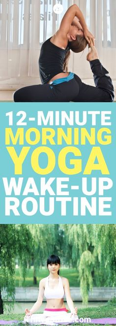 I finally found a morning yoga routine that is perfect for me. Waking up to yoga is a great way to start the day so this routine is perfect. #Yoga #YogaRoutine