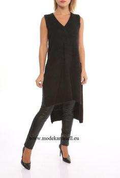 Damen Long Pullover Amira Creme