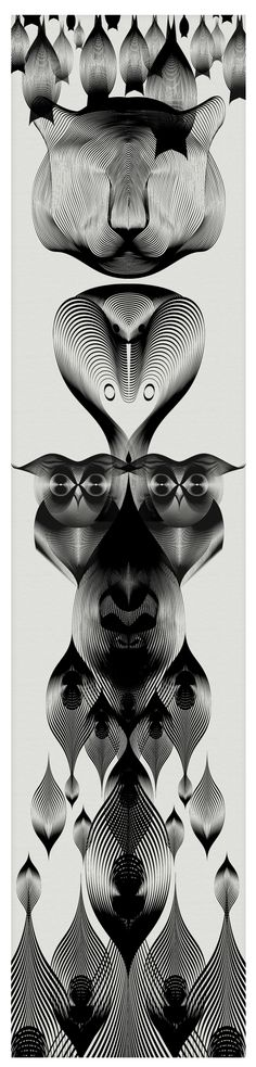 "Italian artist and designer Andrea Minini makes a living creating brand logos and graphics, but as a personal project the artist recently created the ""Animals in Moire"" series. A collection of ..."