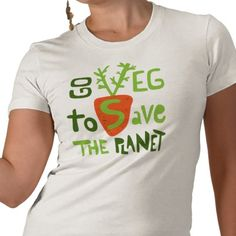 Go VEG to save the planet!