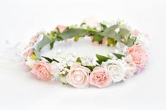 Wianek ślubny różany virgo ⋆ Ptaszarnia