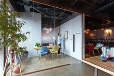 the relaxed partitioning of this space is also good - for the meeting rooms ?