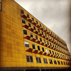 #utrecht #yellow #buildings #architecture #holland Photo by ichclackdich
