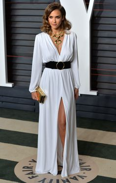 Every Oscars After-Party Dress You Need to See via @WhoWhatWearUK Flawless Greek lady