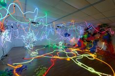 Explosive Light-Based Installations by Adela Andea | Colossal
