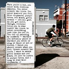 WRDSMTH @wrdsmth 'blue elephants' #WRDSMTH Located on the corner of Pacific Ave and North Venice Blvd in Venice, CA -- @PowerOfArtLA #Venice 5/11/15