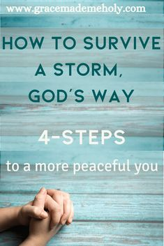 The Christian life does not exclude us from experiencing struggles or trials, however, the Bible gives us advice on how to survive any storm God's way. Christian Encouragement, Words Of Encouragement, Bible Quotes, Bible Verses, Scriptures, Do Not Worry Scripture, Peace Bible Verse, Prayer For Peace, Just Pray