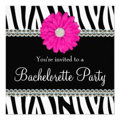 >>>Coupon Code          Zebra Pink Daisy Printed Gems Bachelorette Party Personalized Invites           Zebra Pink Daisy Printed Gems Bachelorette Party Personalized Invites online after you search a lot for where to buyDiscount Deals          Zebra Pink Daisy Printed Gems Bachelorette Part...Cleck Hot Deals >>> http://www.zazzle.com/zebra_pink_daisy_printed_gems_bachelorette_party_invitation-161105341671293396?rf=238627982471231924&zbar=1&tc=terrest