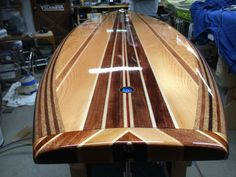 California Board Company (CBC) Stand up Paddle Board Wooden Paddle Boards, Best Paddle Boards, Sup Boards, Wooden Surfboard, Surfboard Art, Paddle Boat, Paddle Boarding, Wooden Art, Wooden Boats
