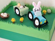 11x Paasdoos maken & meer crea inspiratie voor het paasontbijt op school Lego Letters, Tis The Season, Wooden Toys, Children, Kids, Origami, Seasons, Car, Wooden Toy Plans
