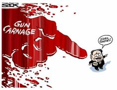 Steve Sack cartoon: Gun carnage | StarTribune.com
