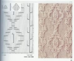 beautiful patterns knitting | make handmade, crochet, craft. Lots of charted designs. Cables. Lace
