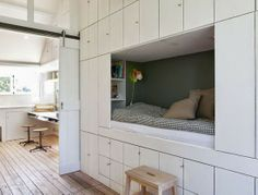 Kinderkamer inspiratie. Voor meer kinderkamers kijk ook eens op http://www.wonenonline.nl/slaapkamers/kinderkamer/