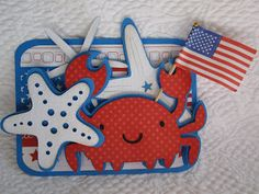 Popsicle Toes: Have a Crab-u-lous Fourth! (BBTB2 Starfish Challenge)