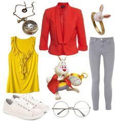 dress like alice in wonderland white rabbit