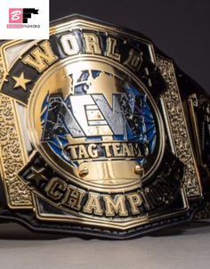 The AEW World Tag Team Championship is an upcoming world tag team championship created and promoted by the American professional wrestling promotion All Elite Wrestling. The championship was first announced on June Awa Wrestling, World Championship Wrestling, Japan Pro Wrestling, World Heavyweight Championship, Wwe Sasha Banks, Wwe World, Rich Family, Charlotte Flair, Fashion Tag