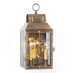 Martha S Wall Lantern 17 H X