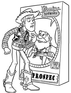 Toy Story 4 Coloring Pages - Coloring Home | 308x236