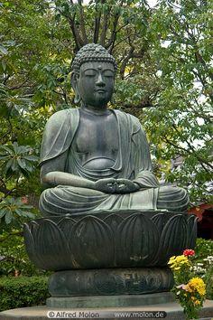 Buddha on lotus...