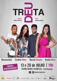 Agenda Cultural RJ: ESPETÁCULO  DEU TRETA  Caio e Alex são amigos de i...