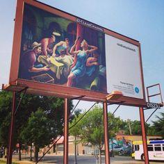 Quand les tableaux les plus célèbres envahissent 50.000 espaces pub aux USA