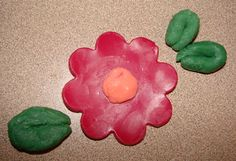 How to make your own playdough soap - just add cornstarch to melt and pour soap.