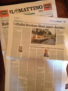 Su Il Mattino #iocistolibreria #lalibreriaditutti #ilmattino #napoli #books #libri #italy   http://www.iocistolibreria.it
