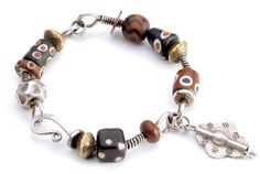 master Brangle bracelet-making by Connie Fox - from Bangles, Cuffs & Brangles: 4 Expert Bracelet-Making Tips and Ideas from the Pros - Jewelry Making Daily