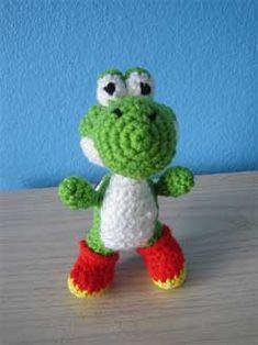 Yoshi Amigurumi Crochet 01... i want to learn how to make it!!!