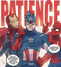 Patience! By @mabychan