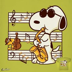 Snoopy Music Is Happiness 🎶 Snoopy Love, Snoopy E Woodstock, Snoopy Images, Snoopy Pictures, Peanuts Images, Peanuts Cartoon, Peanuts Snoopy, Joe Cool, Snoopy Quotes