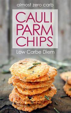 Cauliflower Parmesan Chip Recipe