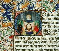 Veronica's Veil - #illustrated #manuscript #medieval